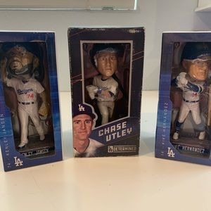 LA dodgers bobble heads
